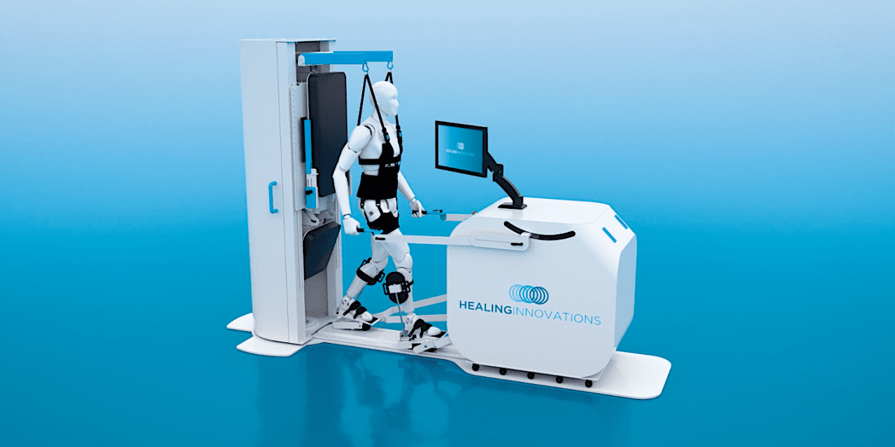 Healing Innovations 'Rise & Walk' Assists in Locomotor Therapy