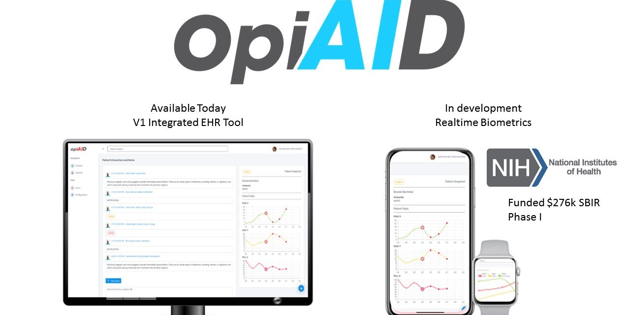 OpiAID Brings Data Analytics to Addiction Recovery